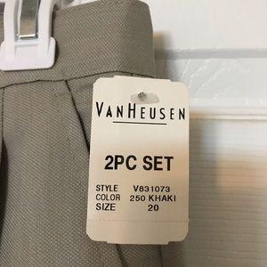Van Heusen Jackets & Coats - NEW Boys Van Heusen Suit size 20